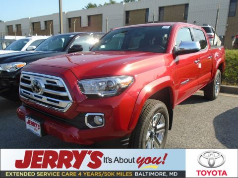 New 2019 Toyota Tacoma Double Cab V6 Limited 4WD