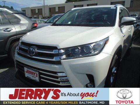 New 2019 Toyota Highlander Hybrid AWD