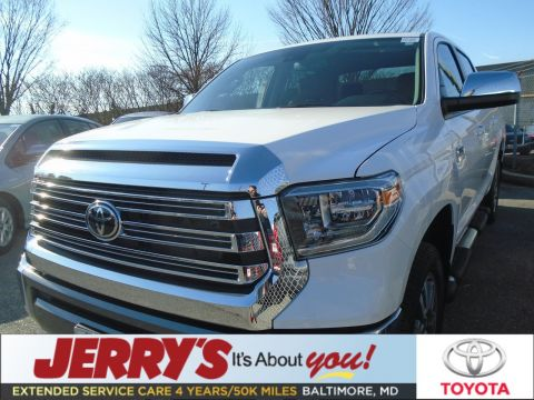 New 2020 Toyota Tundra CrewMax 5.7L V8 1794 Edition With Navigation & 4WD