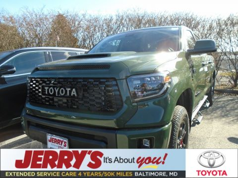New 2020 Toyota Tundra CrewMax 5.7L V8 TRD Pro With Navigation & 4WD