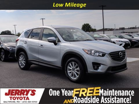 Pre-Owned 2016 Mazda CX-5 Touring With Navigation & AWD