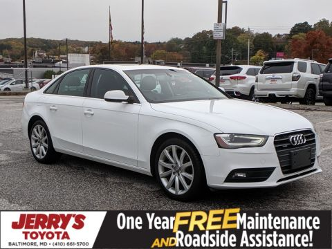Pre-Owned 2013 Audi A4 Premium Plus AWD